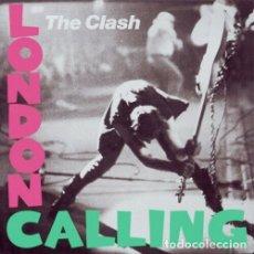 Discos de vinilo: THE CLASH LONDON CALLING 2XLP . PUNK ROCK JOE STRUMMER MICK JONES SEX PISTOLS. Lote 177311327