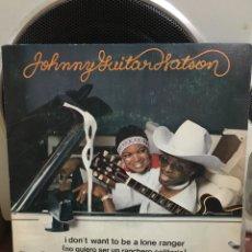 Discos de vinilo: JOHNNY GUITAR WATSON-I DON'T WANT TO BE A LONE RANGER-1975-RARA VERSION ESPAÑA MARFER-VINILO SIN USO. Lote 177311739