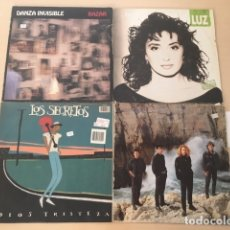 Discos de vinilo: LOTE 4 DISCOS VINILO. Lote 177315279