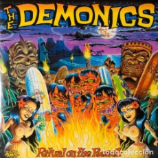 Discos de vinilo: THE DEMONICS RITUAL ON THE BEACH LP . PUNK ROCK AND ROLL SURF RAMONES RIVERDALES. Lote 177322253