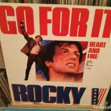 Discos de vinilo: JOEY B. ELLIS AND TYNETTA HARE - GO FOR IT B.S.O. ROCKY V. Lote 177327974