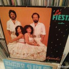 Discos de vinilo: LOS MACHUCAMBOS - LA FIESTA AÑO – 1985 MAXI . Lote 177328260