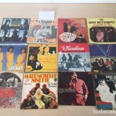 Discos de vinilo: LOTE 12 SINGLES. Lote 177334332