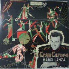 Discos de vinilo: MARIO LANZA//EL GRAN CARUSO//(VG VG). LP. Lote 177350103