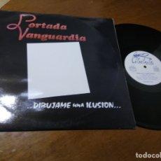 Discos de vinilo: GRUPO-PORTADA VANGUARDIA- DARK WAVE-GRUPO CORDOBES DE LOS 80 ( HEROES DEL SILENCIO). Lote 177366009