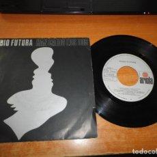 Discos de vinilo: RADIO FUTURA HAN CAIDO LOS DOS / EN ALAS DE LA MENTIRA SINGLE VINILO 1985 SANTIAGO AUSERON 2 TEMAS. Lote 177366083