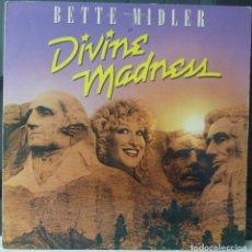 Discos de vinilo: DIVINE MADNESS//BETTE MILDLER//1980//ENCARTE//(VG+VG+). MADE IN USA.LP. Lote 177366764