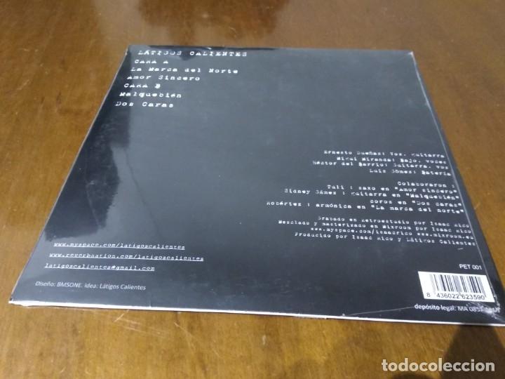 Discos de vinilo: LATIGOS CALIENTES -LA MARCA DEL NORTE- EP 10 PULGADAS-RARO!! ROCK MADRID-NUEVO PRECINTADO - Foto 2 - 177367095