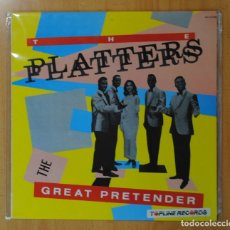 Discos de vinilo: THE PLATTERS - THE GREAT PRETENDER - LP. Lote 177369572
