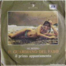 Discos de vinil: IL GUARDIANO DEL FARO-IL PRIMO APPUNTAMENTO, RICORDI 45-1391 (SN), 45-1391. Lote 177369662