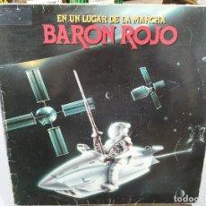 Discos de vinilo: BARON ROJO - EN UN LUGAR DE LA MANCHA- LP. DEL SELLO CHAPA DISCOS 1985. Lote 177370353