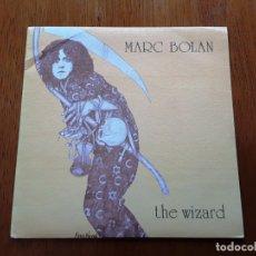 Disques de vinyle: MARC BOLAN - THE WIZARD - 1982 REEDICIÓN DE SU 1965 SINGLE. Lote 177371387
