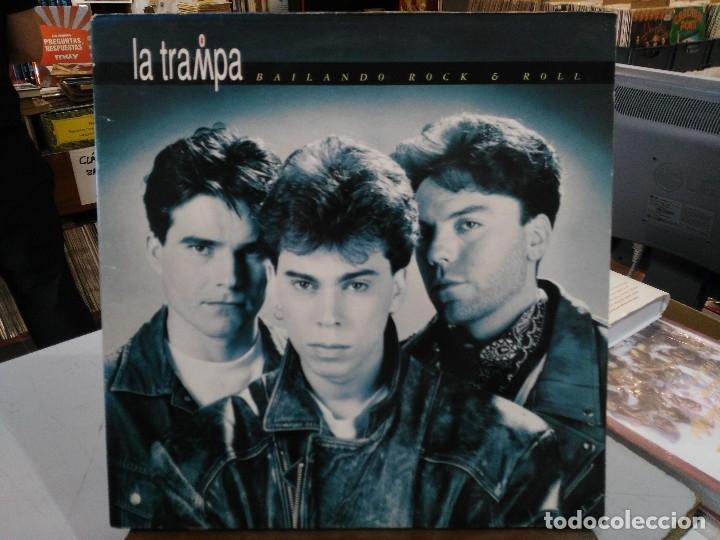 LA TRAMPA - BAILANDO ROCK & ROLL - LP. DEL SELLO ZAFIRO 1992 (Música - Discos - LP Vinilo - Grupos Españoles de los 90 a la actualidad)