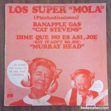Discos de vinilo: LOS SUPER MOLA MURRAY HEAD BAD COMPANY CAT STEVENS PROMOCIONAL. Lote 177383590