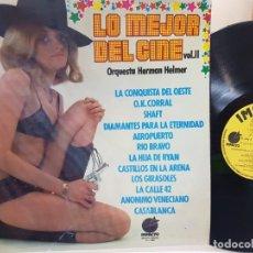 Discos de vinilo: LP-LO MEJOR DEL CINE II-EN FUNDA ORIGINAL AÑO 1974. Lote 177393219