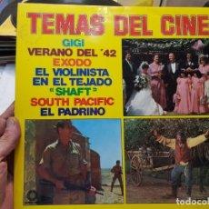 Discos de vinilo: LP-LOS TEMAS DEL CINE-EN FUNDA ORIGINAL AÑO 1973. Lote 177393717