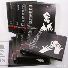 Discos de vinilo: COLECCIÓN COMPLETA 10 ESTUCHES CON 30 VINILOS - EL FLAMENCO - CÍRCULO LECTORES, AÑOS 90 - HISPAVOX. Lote 177394960