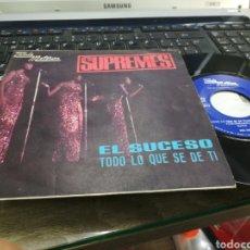 Discos de vinilo: THE SUPREMES SINGLE EL SUCESO ESPAÑA 1967. Lote 177402828