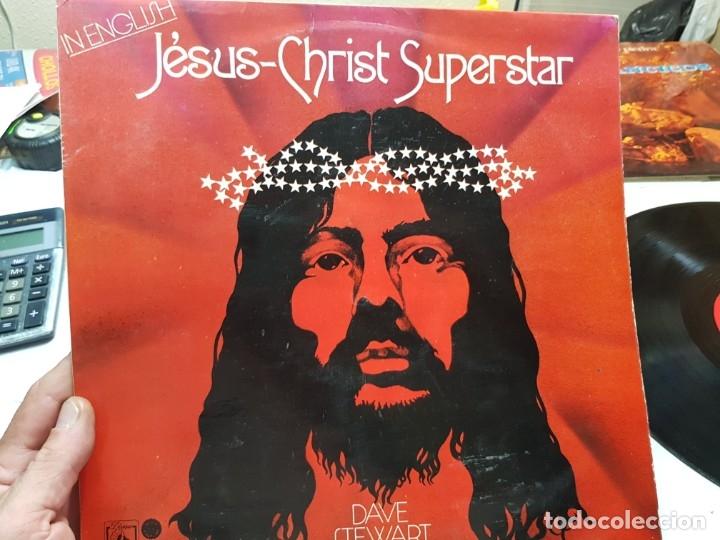 LP-JESUS-CHRIST-SUPERSTAR-DISCO DE DAVE STEWART EN FUNDA ORIGINAL 1974 (Música - Discos - LP Vinilo - Otros estilos)