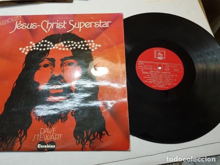 Discos de vinilo: LP-JESUS-CHRIST-SUPERSTAR-disco de DAVE STEWART en funda original 1974 - Foto 4 - 177403322