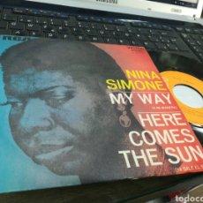 Discos de vinilo: NINA SIMONE SINGLE MY WAY ESPAÑA 1972. Lote 177403377