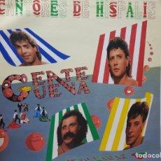 Discos de vinilo: LP-CANTORES DE HISPALIS-DISCO GENTE GÜENA EN FUNDA ORIGINAL 1986. Lote 177404969