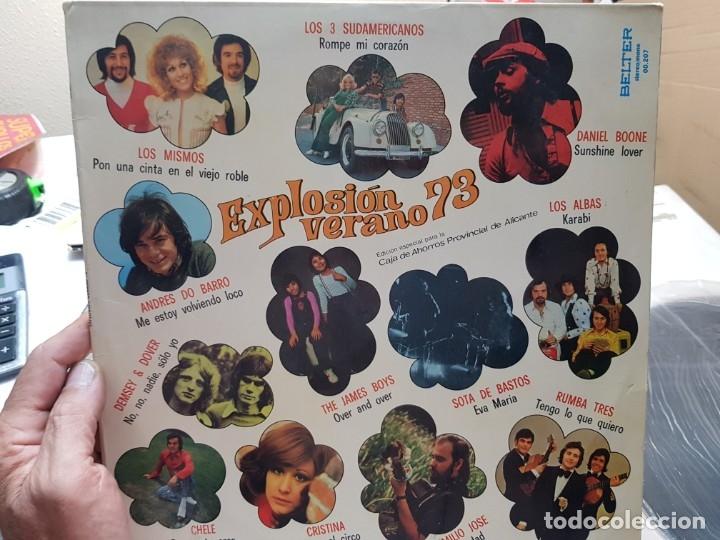 LP-EXPLOSION VERANO 73-DISCO EN FUNDA ORIGINAL 1973 (Música - Discos - LP Vinilo - Grupos Españoles de los 70 y 80)
