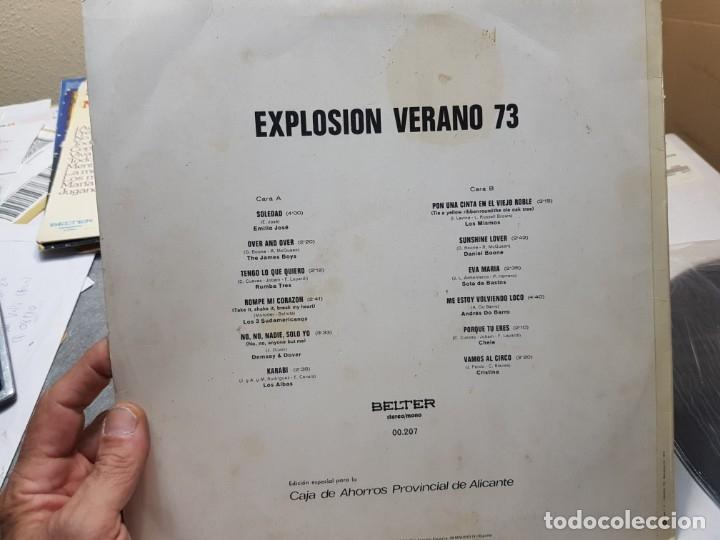 Discos de vinilo: LP-EXPLOSION VERANO 73-disco en funda original 1973 - Foto 2 - 177406688