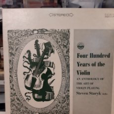 Discos de vinilo: 6 RECORD SET FOUR HUNDRED YEARS OF THE VIOLIN STEVEN STARYK VIOLIN EVERWT LOS ANGELES CALIFORNIA. Lote 177407029