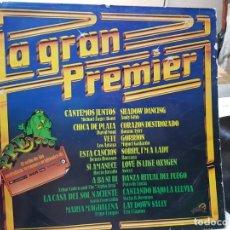 Discos de vinilo: LP-LA GRAN PREMIER -DISCO EN FUNDA ORIGINAL 1978. Lote 177407182