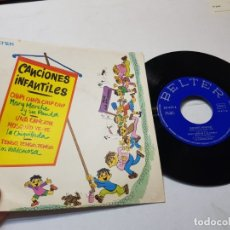 Discos de vinilo: SINGLE-CANCIONES INFANTILES-DISCO EN FUNDA ORIGINAL 1973. Lote 177408670
