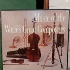 Discos de vinilo: MÚSICA OF THE WOLDS GREAT COMPOSERS RCA REAFERS DIGEST 12 DISCOS. Lote 177408735