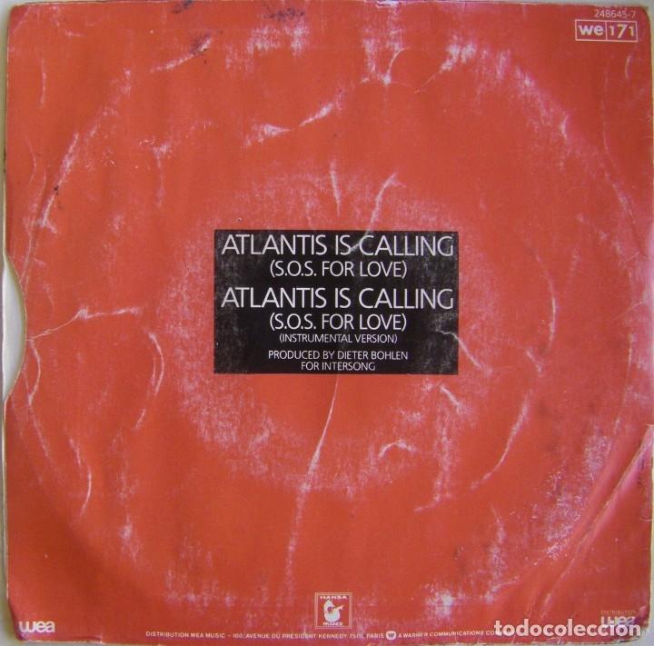 Discos de vinilo: Modern Talking-Atlantis Is Calling (S.O.S. For Love), WEA 248 645-7 - Foto 2 - 177410890