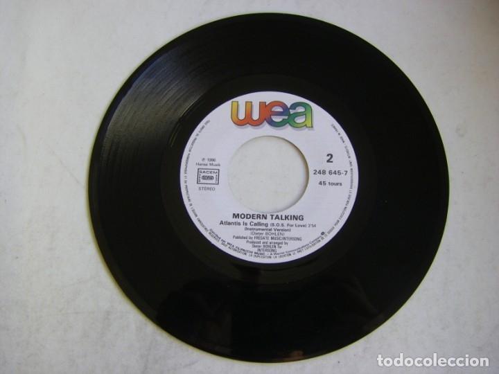 Discos de vinilo: Modern Talking-Atlantis Is Calling (S.O.S. For Love), WEA 248 645-7 - Foto 3 - 177410890