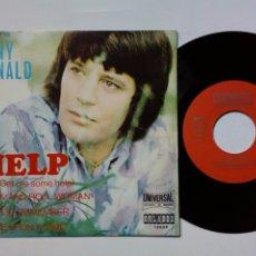 Discos de vinilo: (EP EN INGLÉS) TONY RONALD: HELP + ROCK & ROLL WOMAN + DO YOU REMEMBER + ONCE UPON.. (ORLADOR, 1971). Lote 177411067