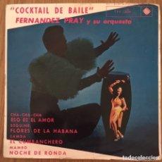 Discos de vinilo: FERNANDEZ PRAY Y SU ORQUESTA EP EDIC ESPAÑA 1962. Lote 177414910