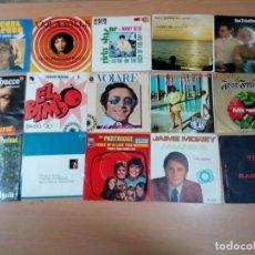 Discos de vinilo: LOTE 15 SINGLES VARIADOS - VER FOTOS -BUEN ESTADO. Lote 177418543