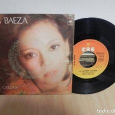 Discos de vinilo: ELSA BAEZA / CREDO / LA CARMEN ASEADA (VER FOTO VER ESTADO FUNDA O CARATULA). Lote 177419989