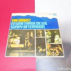 Discos de vinilo: THE KINKS ----SUNNY AFTERNOON --ORIGINAL AÑO 1966 ***COL***. Lote 131204136