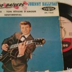 Discos de vinilo: 1961.JOHNNY HALLYDAY 24.000 BAISERS. Lote 177438303