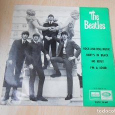 Discos de vinilo: THE BEATLES, EP, ROCK AND ROLL MUSIC + 3, AÑO 1964. Lote 177449843
