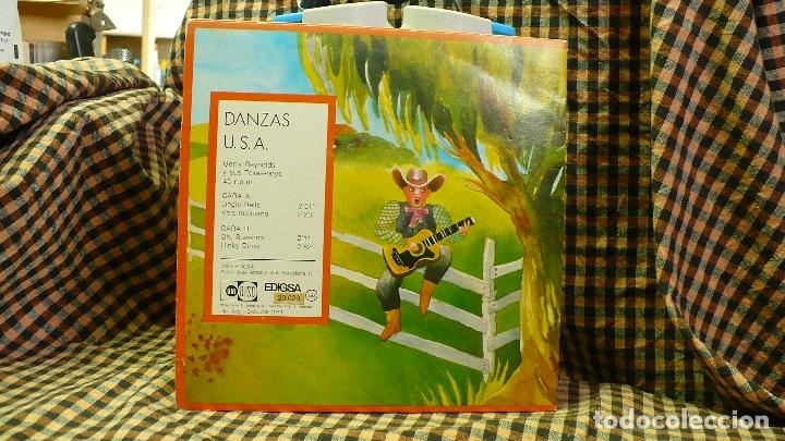 Discos de vinilo: danzas u.s.a / jingle bells / vals mejicano / oh susanna / hiky dinky, edigsa, uni disc 1979. - Foto 2 - 177454879