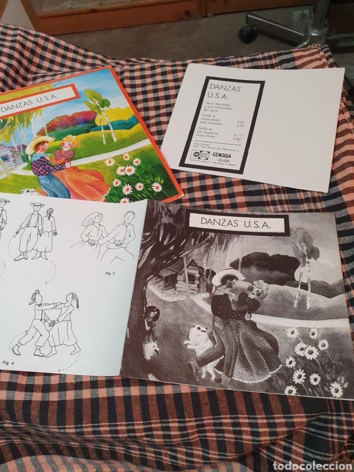 Discos de vinilo: danzas u.s.a / jingle bells / vals mejicano / oh susanna / hiky dinky, edigsa, uni disc 1979. - Foto 4 - 177454879