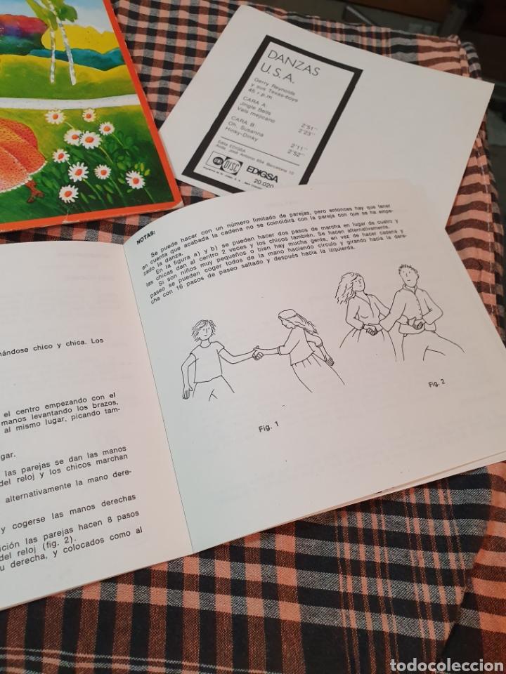 Discos de vinilo: danzas u.s.a / jingle bells / vals mejicano / oh susanna / hiky dinky, edigsa, uni disc 1979. - Foto 6 - 177454879