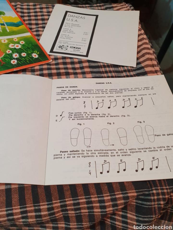 Discos de vinilo: danzas u.s.a / jingle bells / vals mejicano / oh susanna / hiky dinky, edigsa, uni disc 1979. - Foto 7 - 177454879