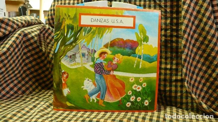 DANZAS U.S.A / JINGLE BELLS / VALS MEJICANO / OH SUSANNA / HIKY DINKY, EDIGSA, UNI DISC 1979. (Música - Discos de Vinilo - EPs - Country y Folk)