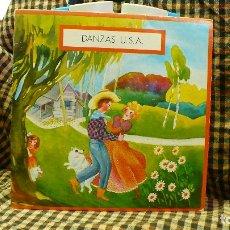 Discos de vinilo: DANZAS U.S.A / JINGLE BELLS / VALS MEJICANO / OH SUSANNA / HIKY DINKY, EDIGSA, UNI DISC 1979.. Lote 177454879