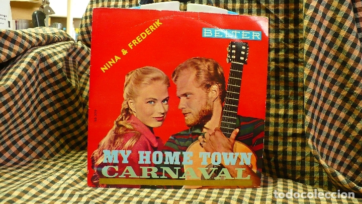 NINA & FREDERIK - CARNAVAL / MY OWN TOWN / BILLY BOY / IT'S BEEN A LONG LONG TIME, BELTER 1960. (Música - Discos de Vinilo - EPs - Country y Folk)