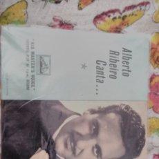 Discos de vinilo: ALBERTO RIBEIRO CANTA ..... FARO HILARIO + 3. EDICIÓN EMI . RARO. Lote 177457187