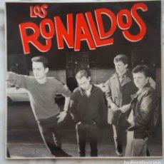 Discos de vinilo: LOS RONALDOS. LP EMI 1987. Lote 177459672